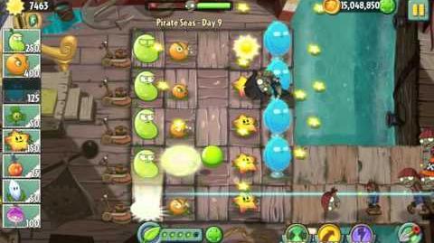 Beta Far Future Plants - Plants Vs. Zombies 2 It's About Time