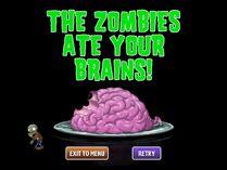 Basic Zombie Ate Brains PVZ 2