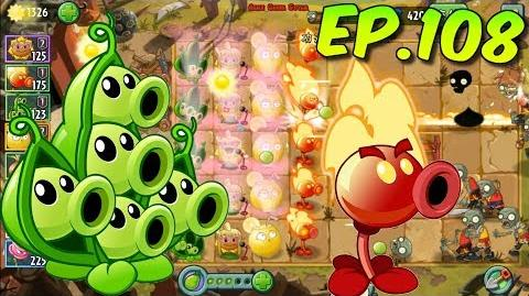 Plants vs. Zombies 2 (China) - Unlocked 2 new Plants - Kung-Fu World Day 22 (Ep