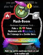Mush-Boom statistics