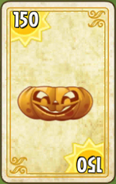 Pumpkin endless zone card