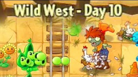 Wild West Day 10 - Plants vs Zombies 2