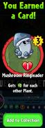 Earning Mushroom Ringleader