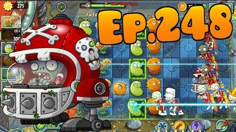 Plants vs. Zombies 2 New Mecha-Football Zombie, new plant Infi-nut - Far Future Day 13 (Ep