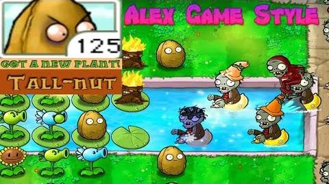 Plants vs. Zombies Adventure Got a Tall-nut level 3-8 Pool (Android Gameplay HD) Ep