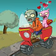 Scooter zombie
