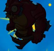 Deep Sea Gargantuar silhouette