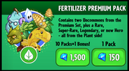 Fertilizer Premium Pack New