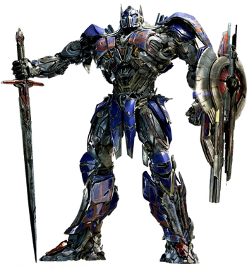 Optimus Prime Knight