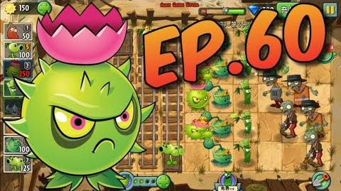 Plants vs. Zombies 2 (Chinese version) Got a New Plant - Level Up Wild West Day 6 (Ep