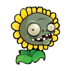 File:Sunflower Zombie HD.png