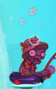 Hypnotized Fisherman Zombie