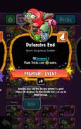Defensive End's Statistics