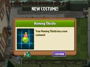 Getting Homing Thistle's Costume