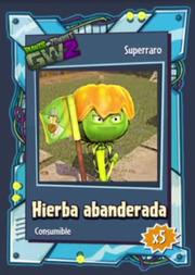 Hierba Abanderada - Superraro