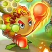 Match Flower Boxer on title screen