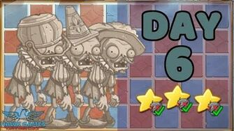 Plants vs Zombies 2 China - Renaissance Age Day & Night 6