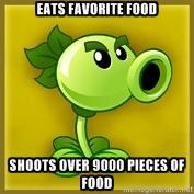 Repeater plant food meme