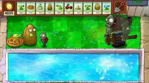 Plants vs Zombies - Gargantuar Imp HP test