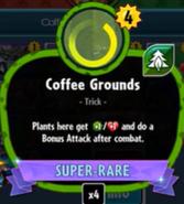 Beta Stats Coffee Grounds