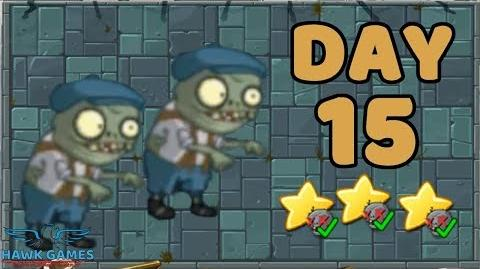 Plants vs Zombies 2 China - Steam Ages Day 15