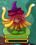 Witch Hazel on Lily Pad