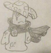 Night Cap Sketch
