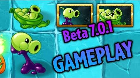 Plants vs. Zombies 2 Sling Pea and Goo Peashooter Gameplay