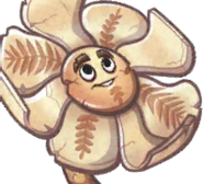 Mesozoic Magnolia card face