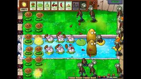 Plants Vs Zombies - Zombie Nimble Zombie Quick - No Pea Plant Strategy