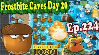 Plants vs. Zombies 2 (China) - Whirlwind Acorn and Pepper-pult - Frostbite Caves Day 20 (Ep.224)