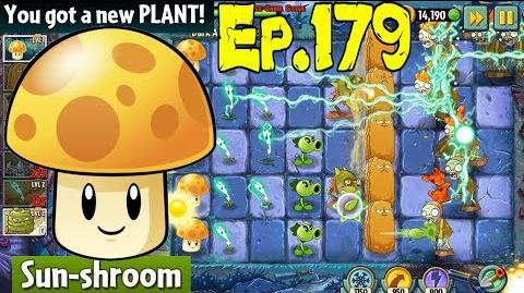 Plants vs. Zombies 2 Got a new Plant Sun-shroom - Dark Ages Night 1 (Ep