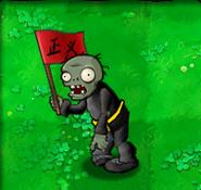 Flag zombie kungfu matet