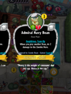 Admiral Navy Bean Conjured by Cosmic Bean