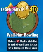 Receiving Wall-Nut Bowling-0