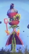 Rosa con una paloma