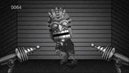 Tiki head zombie