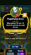 Magnifying Grass stats