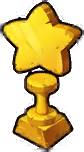 All Stars Obtained Trophy