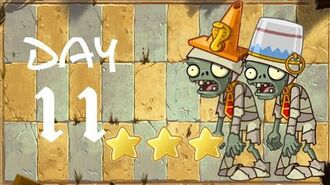 Android Plants vs. Zombies All Stars - Ancient Egypt Day 11