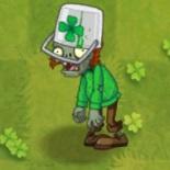 Buckethead Irish Zombie