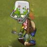Buckethead Zombie Food Fight2