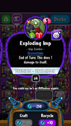 Exploding imp stats