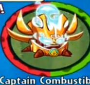 Receiving Captain Combustible