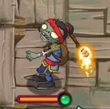 Torch Kung-Fu Zombie (PvZ: AS)