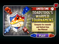 Toadstool's Warped Tournament