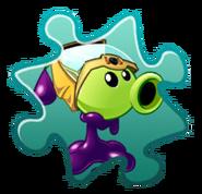 Goo Peashooter Costume Puzzle Piece
