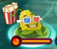 Popcorn-pult on Lily Pad