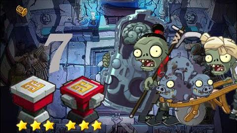 PvZ Online - Adventure Mode - Mausoleum Advent 7