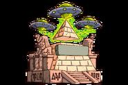 Tombstone HeadstoneTile LEGEND Pyramid